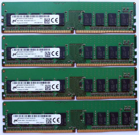 Серверная память 8GB 16GB 32GB DDR4 1Rx8 PC4-2400T ECC Unregistered