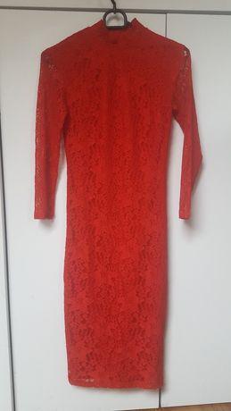 Sukienka koronkowa r.xs