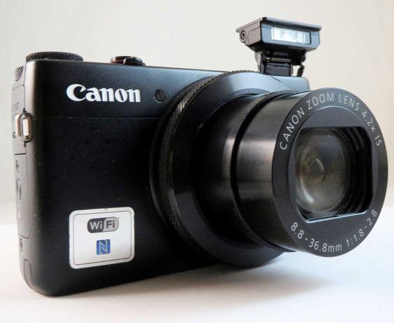 Canon g7x - компактная фотокамера премиум-класса. Прекрасное состояние