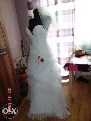 PROMOCJA Prześliczna suknia ślubna