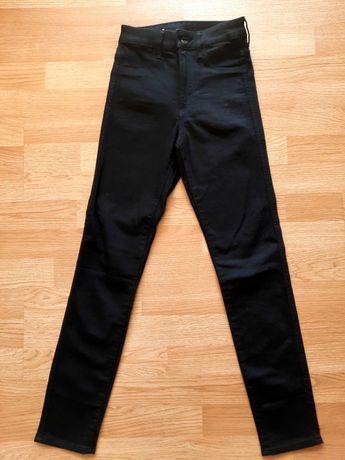 H&M czarne skinny 32