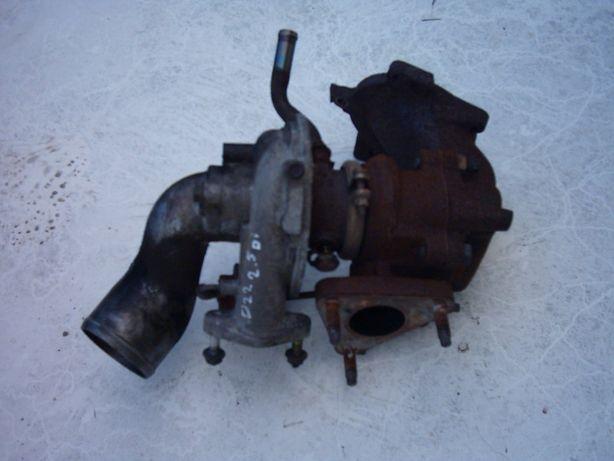 Navara D22 2.5 Di turbo turbina