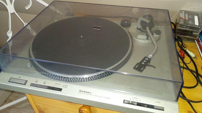 Technics Sl D-202 gramofon, stan bardzo dobry
