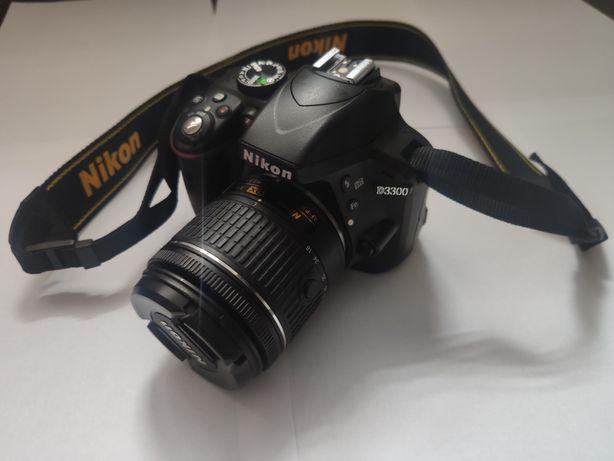 Lustrzanka Nikon D3300 z obiektywem Nikkor AF-P 18-55 VR