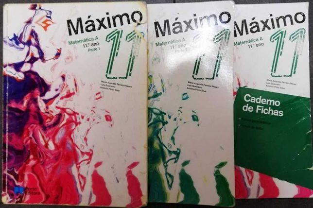 Máximo 11 - Manual de Matemática A 11ºAno