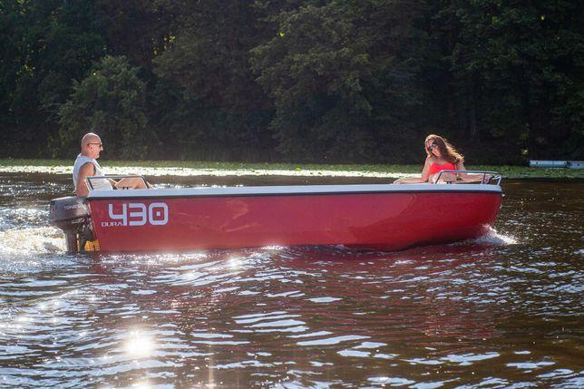Łódź DURA 430i wędkarska turystyczna łódka