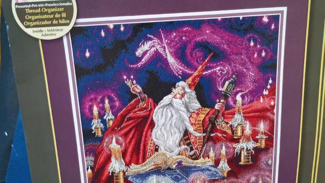 Схема Багровый волшебник 35141 Dimensions вышивка крестом