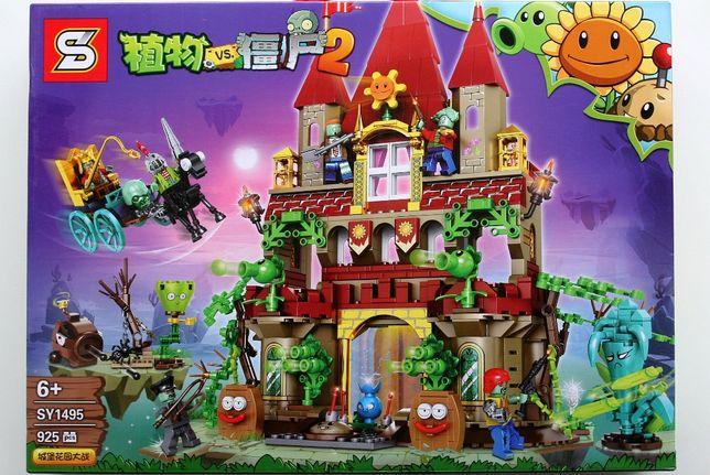 Zestaw klocków jai lego Plants Vs Zombies Rośliny kontra Zombie -zamek