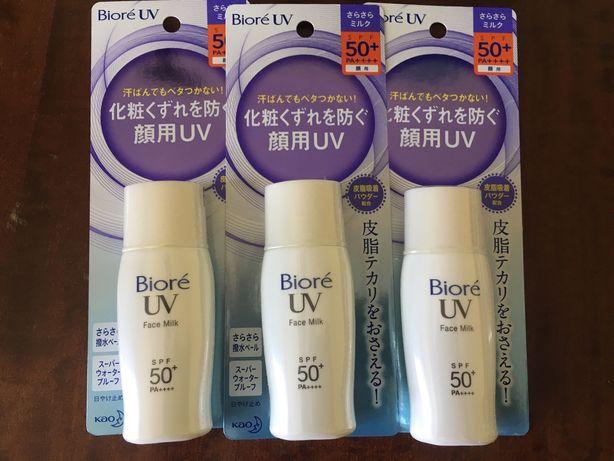 Солнцезащитный крем матирующее молочко spf50 BIORE Япония санскрин