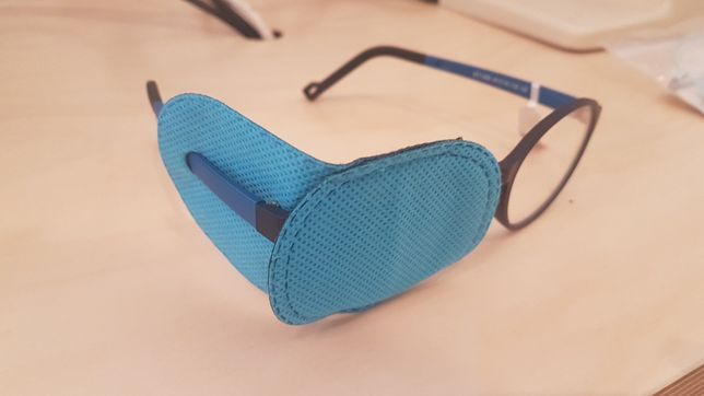 Oclusor oftalmico ambliopia oftalmologia optometria optica