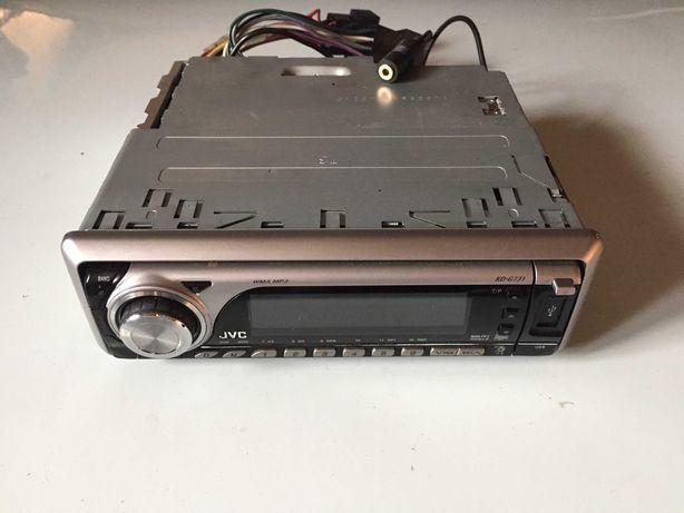 Radio samochodowe JVC usb,aux,cd,mp3