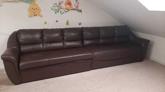 Duża rozkładana sofa