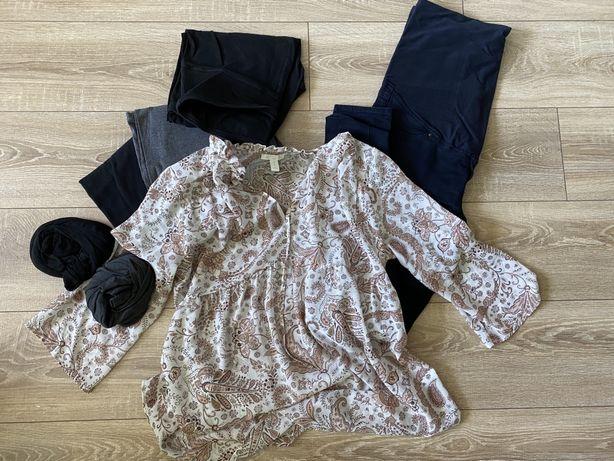 Spodnie i koszula ciazowa h&m nowe