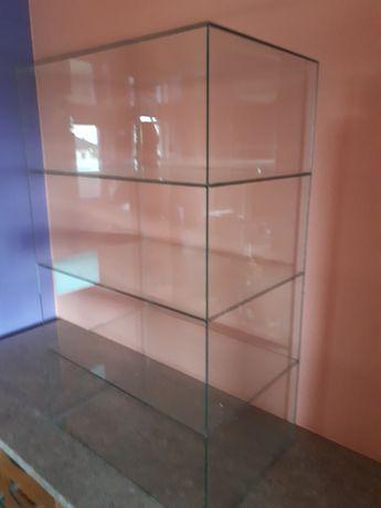 Witryna regał szklany