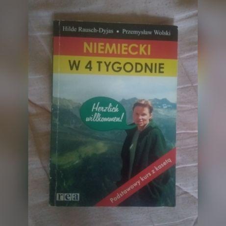 Kurs niemiecki w 4 tygodnie książka i kaseta