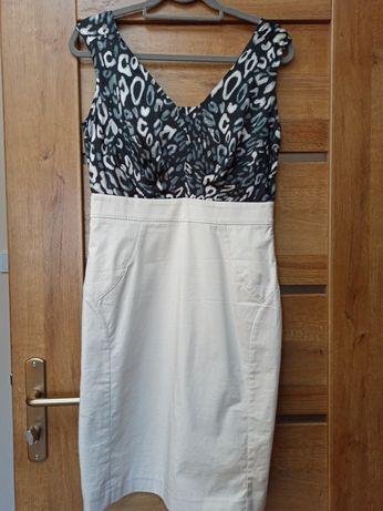 Sukienka elegancka Roz 38-40 Olsen