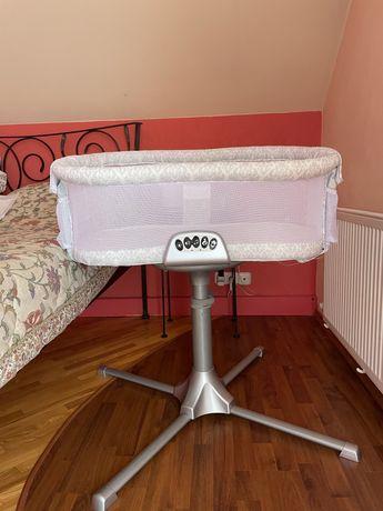 Приставная кроватка люлька для новорожденных Halo Bassinest Swivel