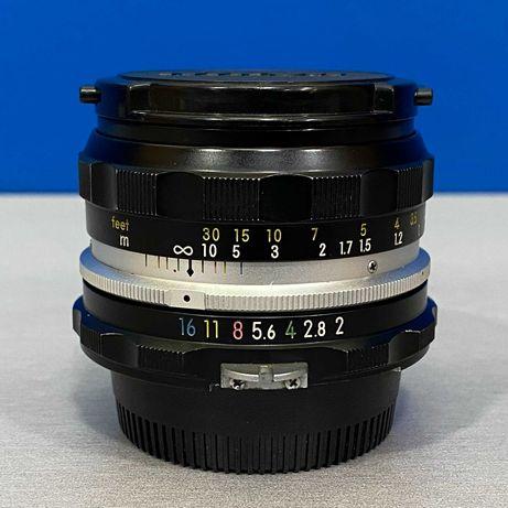 Nikon Nikkor-HC Auto 50mm f/2 (Ai)
