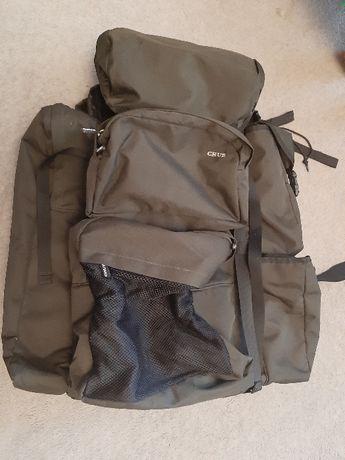 Plecak duży ciemny zielony, pojemny, wojskowy