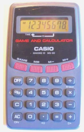 Calculadora CASIO MG-90
