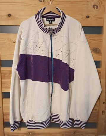 Pelle Pelle bluza zasuwana zip streetwear retro vintage