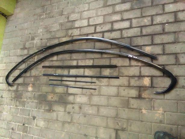 BMW E92 coupe M-PAKIET Listwy ozdobne shadow line komplet