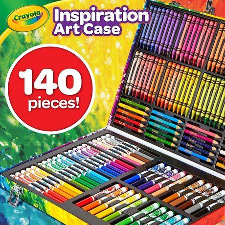 Чемодан для творчества, Crayola art case, фломастеры,карандаши,олівці.