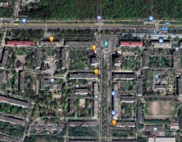 Квартира Двокімнатна Хмельницьке Шоссе Космонавтів