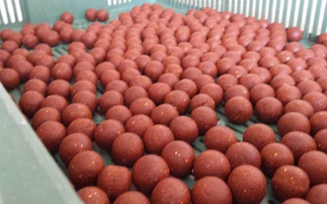 Kulki proteinowe truskawka 20mm