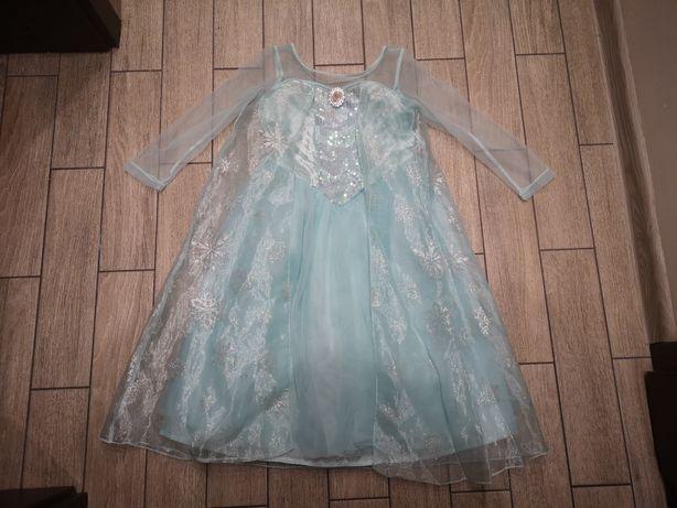 Sukienka Elsy ELSA Kraina Lodu Frozen Disney roz.122-128cm