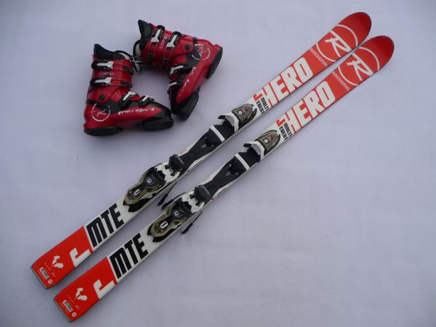 Komplet narciarski - narty Rossignol 140 cm + buty Rossignol 38