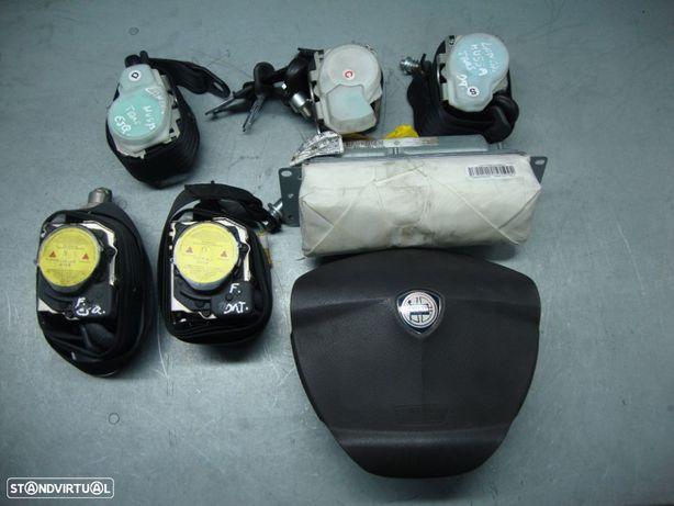 Kit airbags e cintos de segurança Lancia Musa