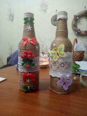 Продам декоротивную бутылку