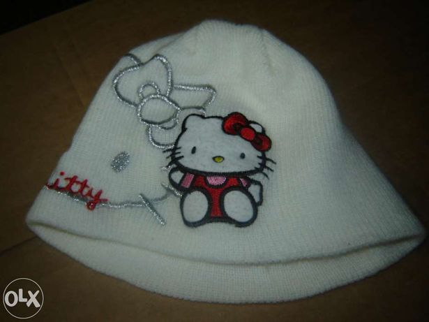 Gorro e luvas Hello Kitty