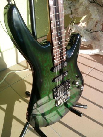 WESLEY gitara elektryczna 24 progi manufaktura W Brytania akcesoria