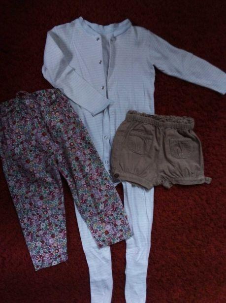 Пакет одягу на дівчинку 68-74см