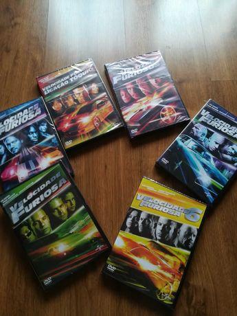 Saga Velocidade Furiosa completa em DVD selada