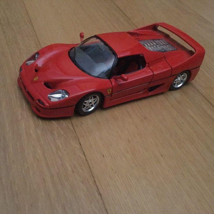 Carro raro miniatura Ferrari F 50 Red 1995 1/18 novo Porto - imagem 1