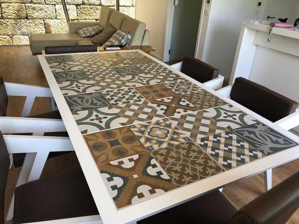 mesa de jantar semi nova