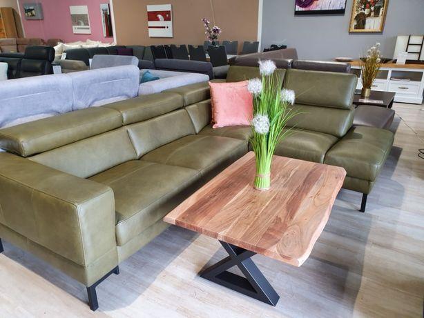 NAROŻNIK skórzany NAYOMI Etap Sofa Promocja-10% Bydgoskie meble