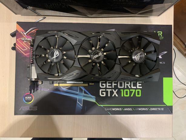 ASUS rog strix GTX 1070 O8G gaming