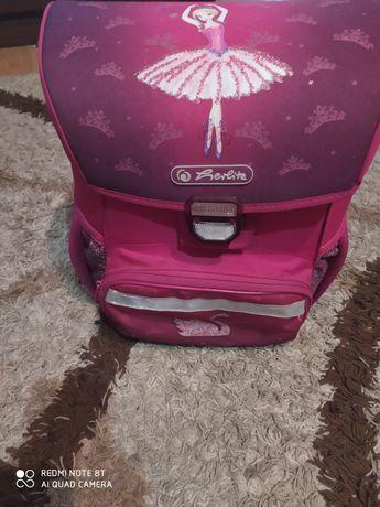 Школьный ранец для девочки Herlitz рюкзак