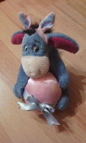 Pluszowy Osiołek Disney z filmu Kubuś Puchatek, zabawka, maskotka.