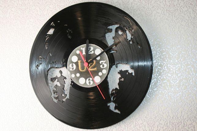 Relógio de Parede em Vinil de U2