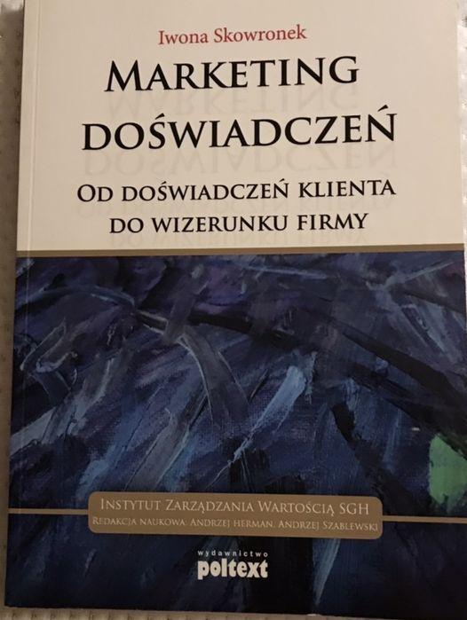 Książka Marketing Doświadczeń Iwona Skowronek Warszawa - image 1