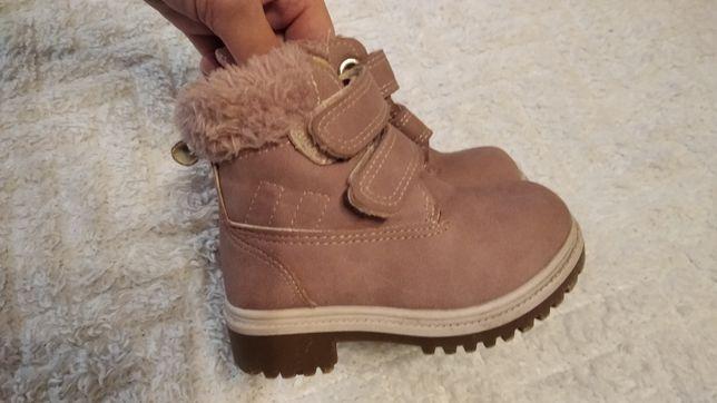 Buty zimowe dla dziewczynki 21