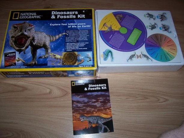 Zestaw national geographic dinosaurs NOWY