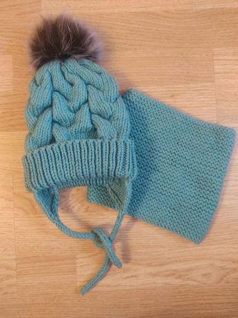 Зимовий набір, шапка і хомут