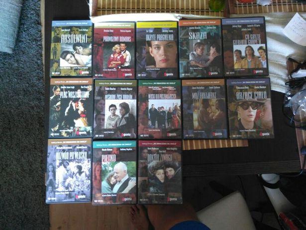 Kolekcja filmów DVD Gazety Wyborczej filmy Wyborcza zestaw 14 płyt