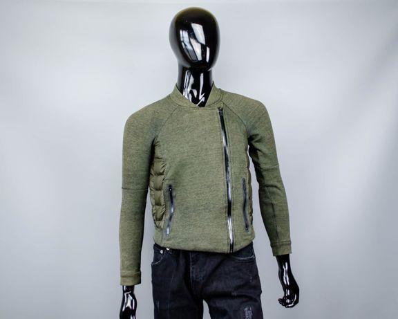 Весенняя куртка Nike Tech fleece Aeroloft Moto.Жакет.Бомбер.Alpha